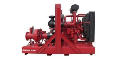 Global Pump - Model 12GSHAP - High Pressure Auto Prime