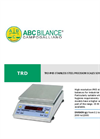 Model TRD Series - Stainless Steel Precision Scale - Brochure
