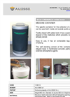 Eco Farmaco - Model 1109110 - Hazardous Domestic Waste Container Bins Brochure