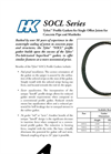Gaskets for Single Offset Joints for Concrete Pipe and Manholes SOCL Series