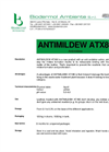 ANTIMILDEW - Model ATX80 - Anti Mould Product Brochure