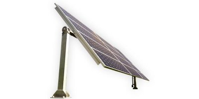 PSG - Model 3000 Series - Single Axis Tracking Solar Mounting System
