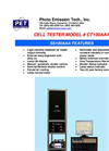 Model CT 10 0 AAA - Cell Tester Brochure