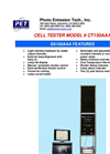 Model CT 150 AAA - Cell Tester Brochure