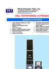 Model CT 300 AAA - Cell Tester Brochure