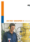 EX-Tec - Model Snooper 4 - Explosion-Proof Gas Leak Detector With Integrated Gas Database Brochure
