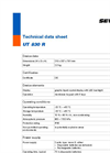 Model UT 830 R - Reliable Pipe Location - Technical Datasheet