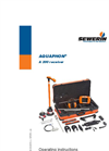 Aquaphon - Model A 200 - Electro-Acoustic Water Leak Detection Device - Operating Instructions Manual