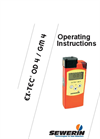Ex-Tec - Model OD4-GM4 - Gas Warning and Gas Measuring Instrument Manual