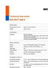 Ex-Tec - Model GM 4 - Gas Warning and Gas Measuring Instrument - Technical Datasheet