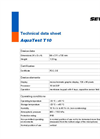 AquaTest - Model T10 - Robust Test Rod for Electro-Acoustic Water Leak Detection Outdoors - Technical Datasheet