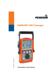 VARIOTEC 460 Tracergas - Operating Instructions Manual