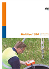 Multitec 520 - Versatile Multiple Gas Warning Device for Workplace Monitoring - Brochure