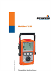 Multitec 520 - Versatile Multiple Gas Warning Device for Workplace Monitoring - Operating Instructions Manual