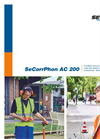 SeCorrPhon AC 200 - Correlator and Acoustic Water Multifunctional Leak Detector - Brochure