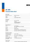 SeCorrPhon AC 200 - Correlator and Acoustic Water Leak Detector - Technical Datasheet