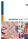 AQUAPHON A 50 - Professional, Electro-Acoustic Water Leak Detection - Brochure