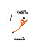UtiliTrac - Standard in Pipeline and Cable Detection - Operating Instructions Manual
