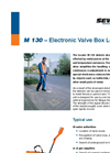 Model M 130 - Electronic Valve Box Cover Locator - Brochure