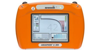 AQUAPHON A 200 - Electro-Acoustic Water Leak Detection Device