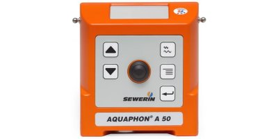 AQUAPHON A 50 - Professional, Electro-Acoustic Water Leak Detection