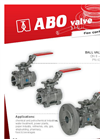 Ball Valves Brochure