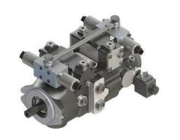 Hansa - Model TPV 1200 BTB - Variable Displacement Closed Loop System - Axial Piston Compact Tandem Pump