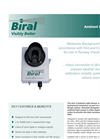 Biral - Model ALS-2 - Ambient Light Sensor - Data Sheet