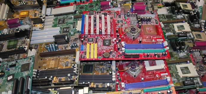 Scrap Motherboards, Memory and PCB Boards