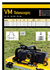 Model VM 140-195 - Telescopic Agricultural Flail Mowers- Brochure