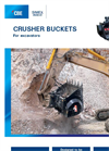 Model CBE 10 - Crusher Buckets for Excavator Brochure