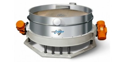Vibrowest - Model MSC Series - Low Profile Circular Separator