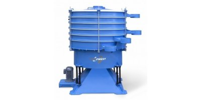 Vibrowest - Model VAN - Tumbler Screening Separator