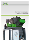 Model SE 30 - Two-Shaft Shredders Brochure
