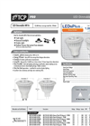 TCP 7 Watt MR16 LED Flood GU5.3 Base Dimmable 3000K Warm White Light Bulb Brochure