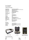 Model FLUO-IMAGER SERIES - Multipurpose Spectral Analyser Brochure