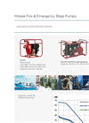 DESMI - Mobile Fire & Emergency Bilge Pumps Brochure