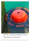 DESMI - MINI-MAX - Self-Adjusting Weir Skimmer - Brochure