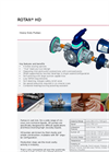 DESMI ROTAN Model HD Heavy Duty Internal Gear Pumps Brochure