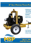 "Model DD-4 - 4"" Double Diaphragm Trailer Pump Brochure"