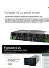 Flatpack - Model S 2U - Small Power Dense System Brochure