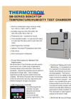 Benchtop - SM-Series - Temperature/Humidity Test Chambers Brochure