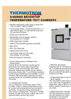 Benchtop - S-Series - Temperature Test Chambers Brochure