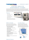 Model S/SM-8200+ Benchtop Environmental Chamber - Brochure