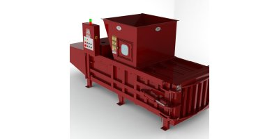 Model HE-60 - Wide Mouth Horizontal Baler
