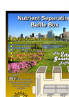 Nutrient Separating Baffle Box - Stormwater Treatment Structure – Brochure