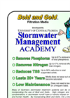 Bold and Gold - Stormwater Filtration Media – Brochure