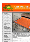 GR8 Protector - Temporary Inlet Protection for Construction Sites – Brochure
