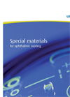 Special Materials for Ophthalmic Coating Brochure