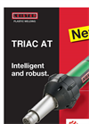 TRIAC AT Hot Air Tool For Welding And Shrinking Plastic Brochure